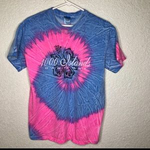 1000 Islands New York Tie Dye Shirt Size M